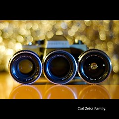 Carl Zeiss Family (Marcin Sowa) Tags: family light apple 35mm lens 50mm iso200 aperture nikon dof bokeh porn analogue pentacon nikkor f18 praktica lenses 135mm wideopen d300 cs4 carlzeiss shortdof marcinsowa