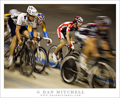 The Sprint - American Velodrome Challenge (G Dan Mitchell) Tags: california county usa motion blur sports bike bicycle speed track cyclist action stock helmet sanjose racing professional pack national santaclara fixedgear sprint rider velodrome racer peloton bissel fixte