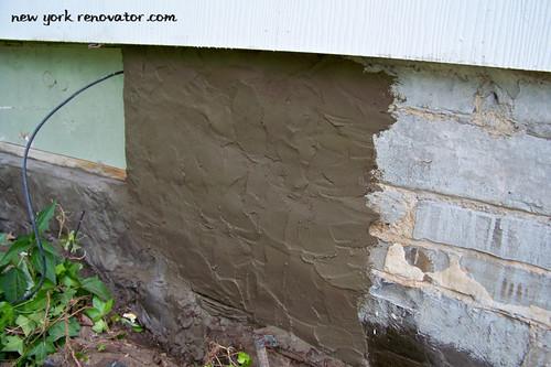 New Parging Basement Walls Cost