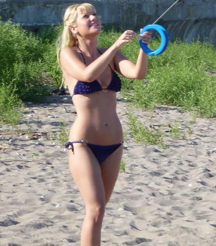 : toronto, bikini, blond, swimsuit, beach, beaches, tricia, blonde