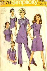 Simplicity 9076 (Miss-Dandy) Tags: mod dress 1960s vintagesewing vintagepattern homesewing