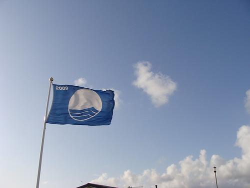 blue flag beach