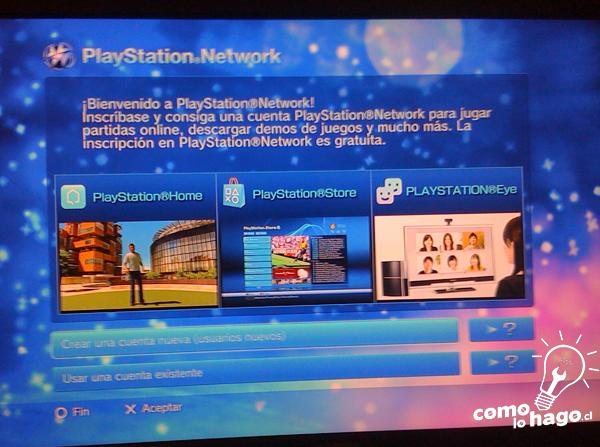 Bienvenida a la Playstation Network