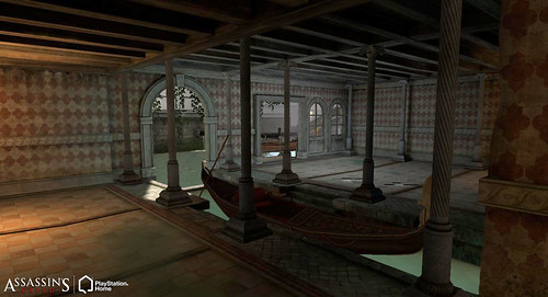 Assassin's Creed II Personal Space (Apartment) in PlayStation Home (Apartment)