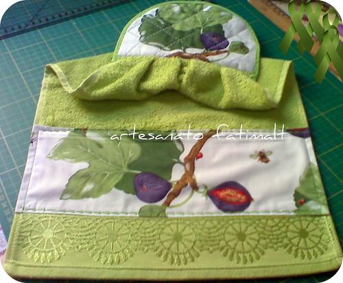 Bate mão ou toalha de mão by fatimalt