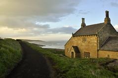 The bathing house (Keartona) Tags: bathing house northumberland howich chimneys sea coast enladn north east road