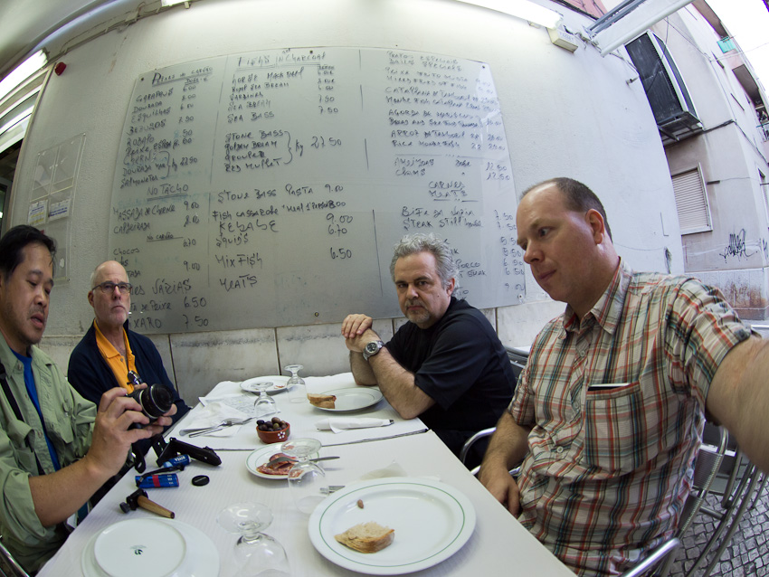 Jook Leung, Martin, Luc Villeneuve et JP