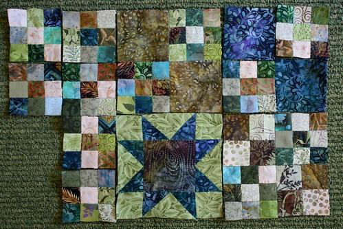 Woodland Quilt WIP 14Jun11