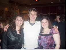 Tamila, Kyle and Erin B at the cast party