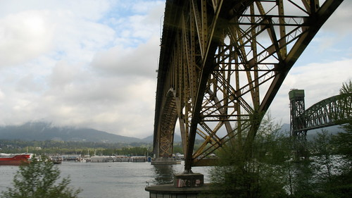 Passing Under Second Narrows