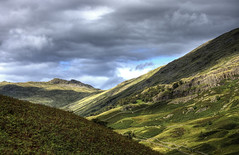 England, Cumbria: Scandale Peaks (Tim Blessed) Tags: uk sky mountains nature clouds landscapes countryside scenery rocks lakedistrict cumbria scandale singlerawtonemapped