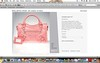 i really really want this. (cybermelli) Tags: city bag giant hardware gimme want purse covered now framboise balenciaga