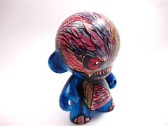 Custom Mini Munny by OsirisOrion