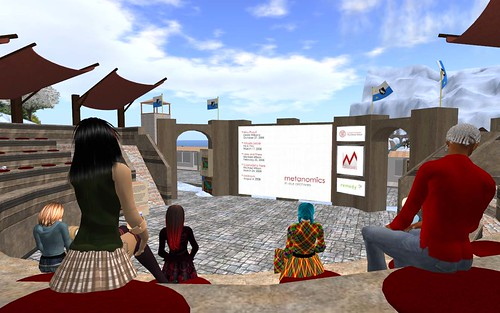 Metanomics presentation screen