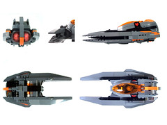 Nightfox pursuit fighter angles (wunztwice) Tags: night fighter ship lego space fox landinggear scifi spaceship windshield canopy windscreen technique pursuit nightfox starfighter spacefighter legospace legospaceship legotechnique legoscifi legostarfighter