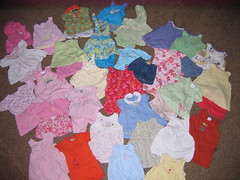 HUGE lot of Baby Girl Clothes 6 - 9 monthsSUMMER (XChange Domain) Tags: baby 6 girl for pieces lot 9 clothes only huge 35 42 monthssummer