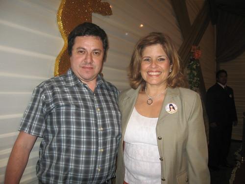 Javier Fernandez con Ministra Mercedes Aráoz