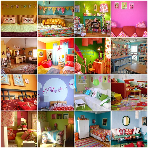 colorful rooms / Aimee Ray