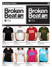Brokenbeat Shirts - Sample Sheet (Accent Creative) Tags: california music dj sandiego vj roland visuals tshirts electronic glitch dub breaks dubstep producers djing tees idm vjing brokenbeat accentcreative