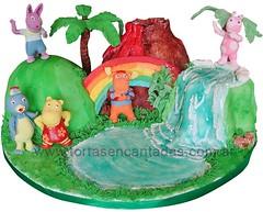Backyardigans Hawaian Fantasy / Torta Backyardigans (Tortas Encantadas) Tags: argentina pilar buenosaires capital cumpleaños federal especiales increibles originales tortasdecoradas tortasinfantiles backyardiganscake tortasdecumpleaños tortadelosbackyardigans tortasparaniños tortasparachicos