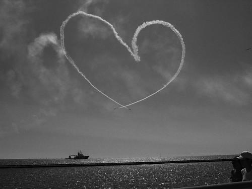 Heart at CNE Airshow