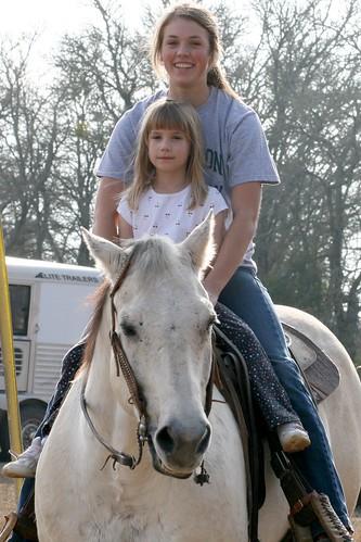 Cassie On Horse 3