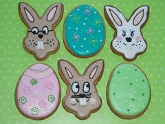 Cookies Ostern. Hasen.Eier (suess-und-salzig) Tags: stuttgart give sylt hochzeitstorte ulm kekse weddingcakes aw