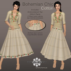 Total Betty *Bohemian Chic* Cotton (Betty Bee) Tags: totalbetty rflinsl clothingfair09