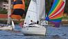 Downwind fun (3) (dicktay2000) Tags: sailing sydney australia spinaker henley abbotsford parramattariver img2448 pfosilver