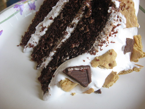Hershey Chocolate Bar Cake