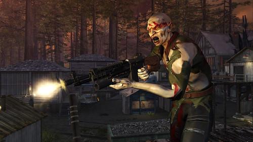 Resistance 2 screenshote Rick Lumberyard Cloven