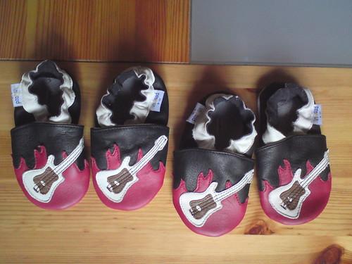 Unsere ersten Schuhe