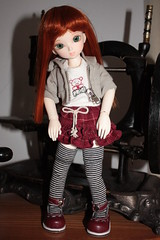 Cutie pie (fashiondollcrazy) Tags: doll lotus tiny bjd resin ae yosd asleepeidolon