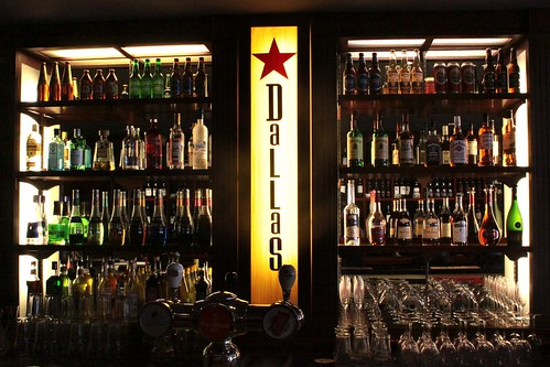 The bar at Dallas (level 1)