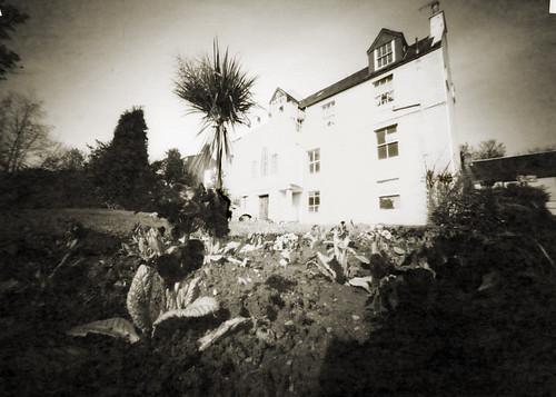 Kirkton hall pinhole image ortho lith film 26Mar09