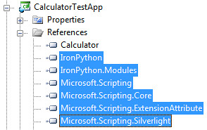 What you need to host IronPython in Silverlight