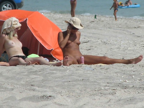 naked in public beach nudity photo pics: nudist