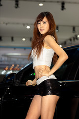 Seoul Motor Show 09 (mrsoeil) Tags: show girl asian model korea racing seoul motor kintex