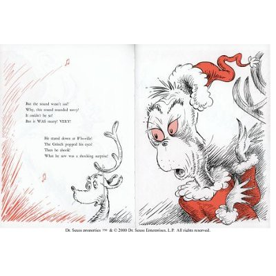 Top 100 Picture Books #61: How the Grinch Stole Christmas by Dr. Seuss