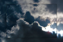 Clouds (Ryan McCurdy) Tags: blue sky sun rain clouds lens glare bright ryan flare mccurdy ryanmccurdy