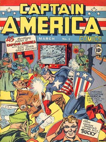 Captain america 1 (marzo de 1941)