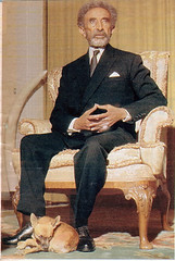Emperor Haile Selassie (royalist_today) Tags: monarch ethiopia 1973 monarchy throne emperor sovereign haileselassie