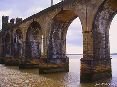 runcorn railway bridge (exacta2a) Tags: architecture bridges arches rivers runcorn merseyside widnes rivermersey