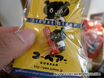 Kobear - a Kobe mascot