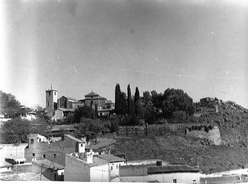 Iglesia de San Lucas (Toledo) el 18 de noviembre de 1969. Fotografía de Eduardo Butragueño Bueno