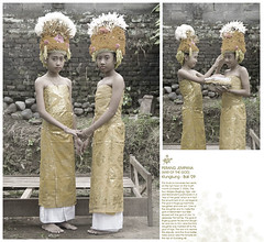 Rejang Dancers (telingakupink) Tags: bali photography war dancers god traditional dancer ritual journalist klungkung perang rejang jempana