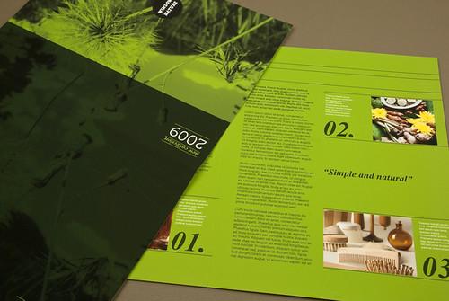 Natural Cosmetics Brochure