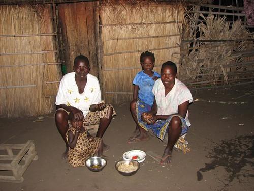 Eating Fufu in Democratic Republic of Congo