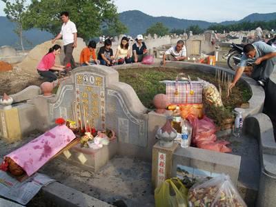 Gung-gung & poh-poh's grave