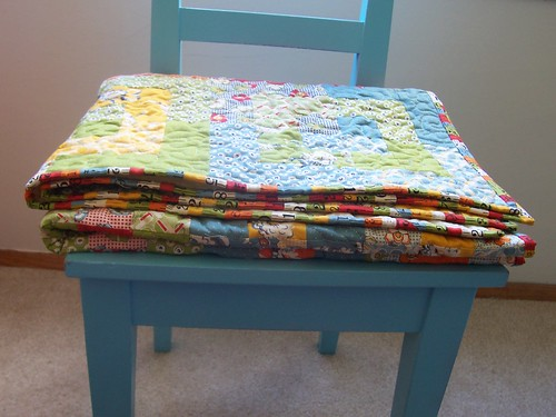 recess quilt all folded up
